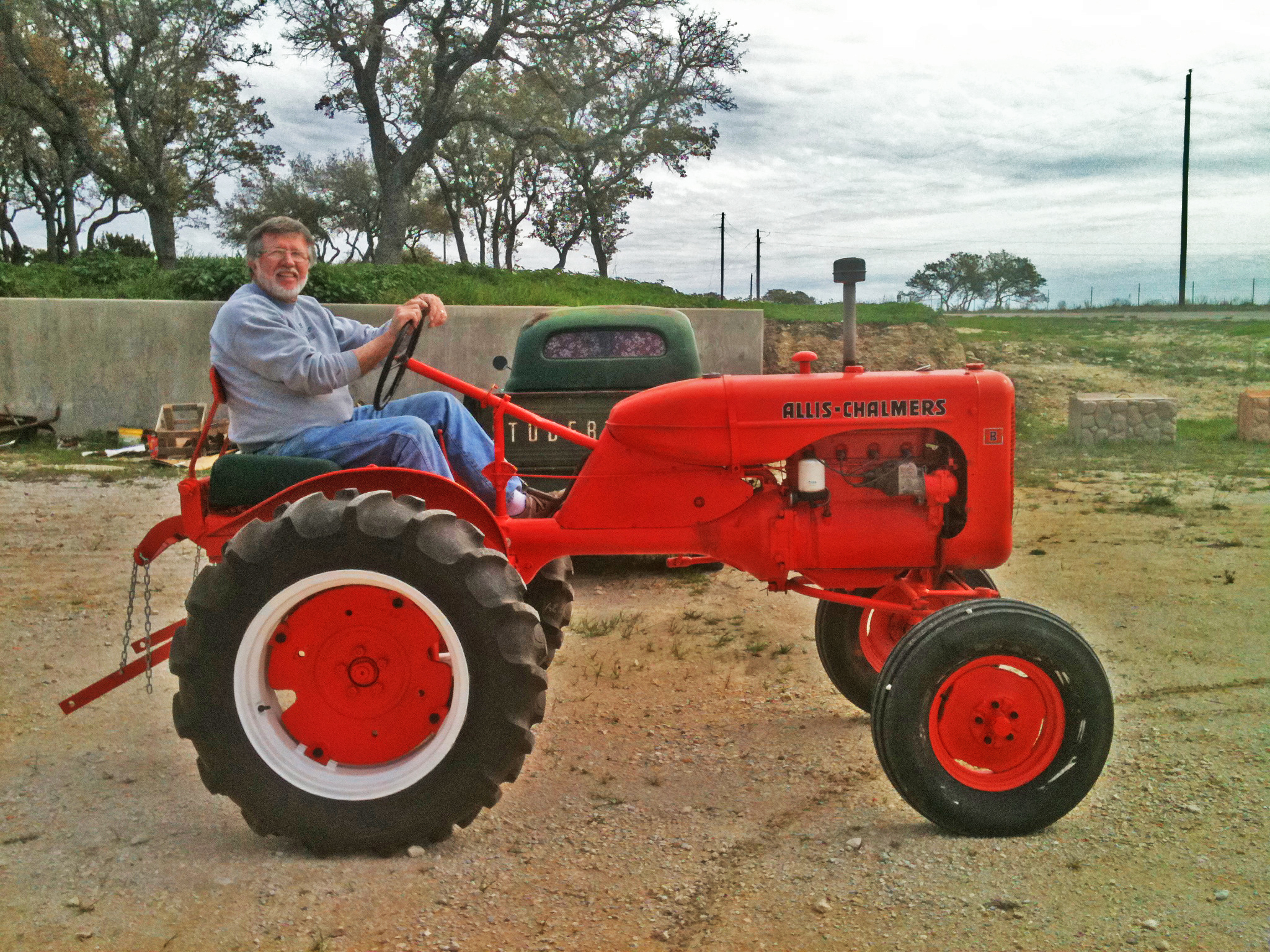 Allis Chalmers Tractor : Of men and machines tractors rule allis chalmers