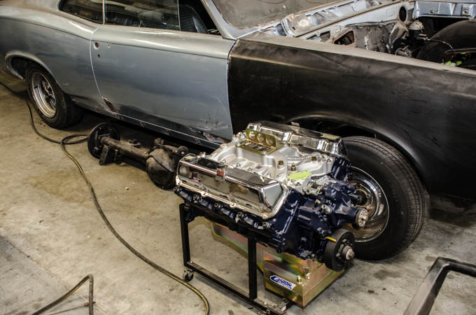Larry's personal GTO undergoing complete restoration